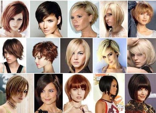 Выбор стрижки по форме лица