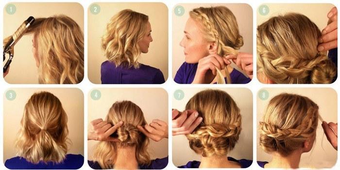 Как сделать укладку на короткие волосы в домашних условиях? Простые советы от prodat-volosy.com.ua
